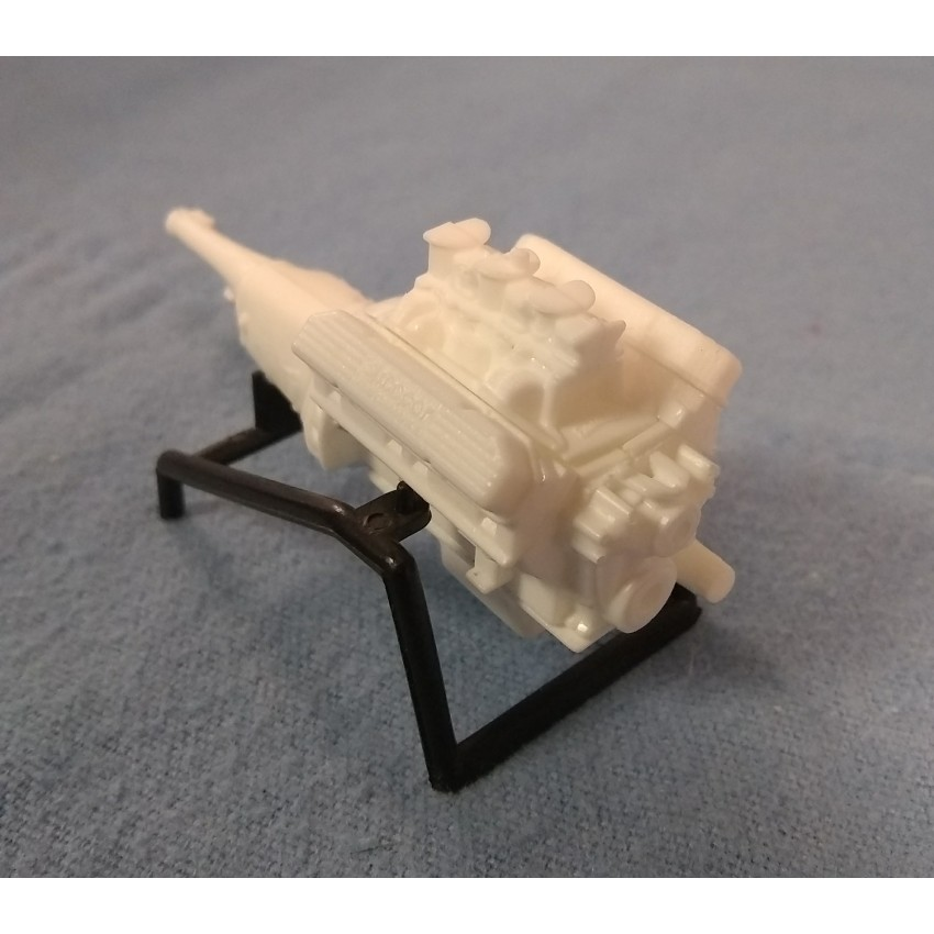 resin cast plymouth  engine kit   scale