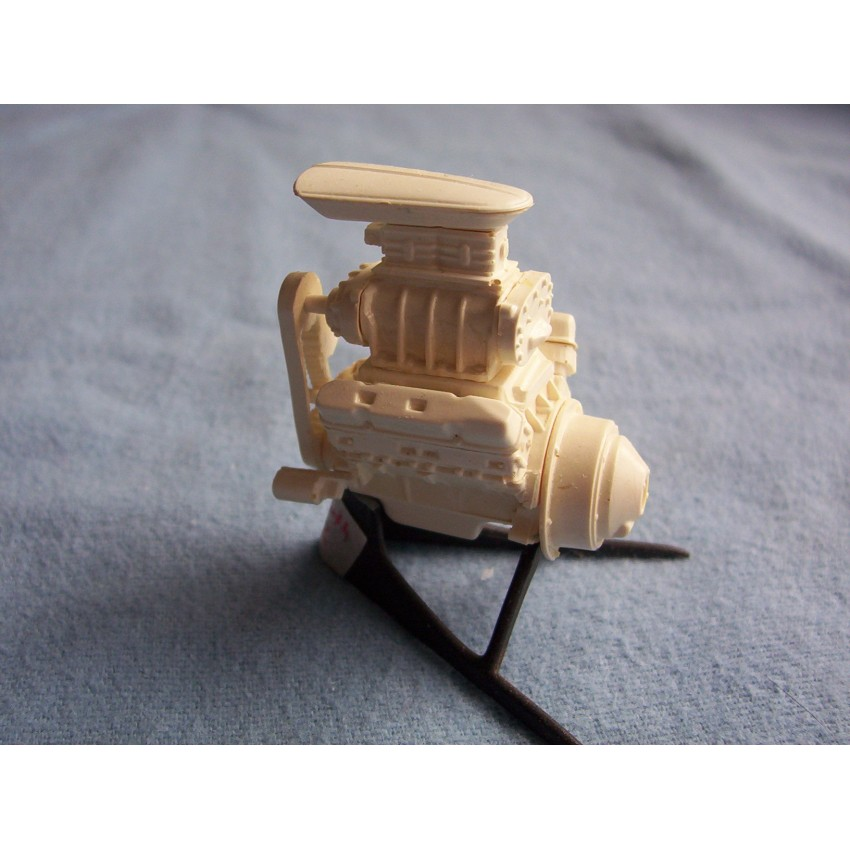 Resin Cast Plymouth Blown 482 Engine Kit 1/24 1/25 scale